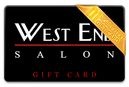 West End Salon M-Gift Card